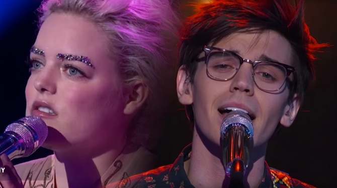 "American Idol 2016: Jenn Blosil's Bedazzled Brows, MacKenzie Bourg's Dazzling ""Roses"""